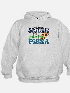 gluten free pizza Hoodie