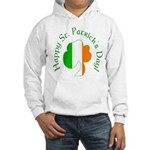 Irish Tricolor Shamrock Hooded Sweatshirt