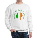 Irish Tricolor Shamrock Sweatshirt
