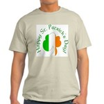 Irish Tricolor Shamrock Light T-Shirt