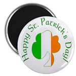 Irish Tricolor Shamrock Magnets (10 pack)