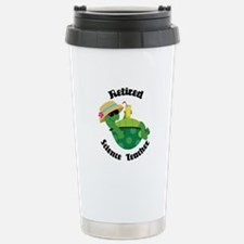 Retired Science Teacher Gift Travel Mug
