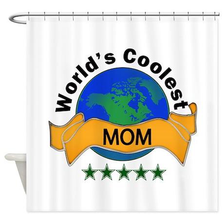 World's Coolest Shower Curtain