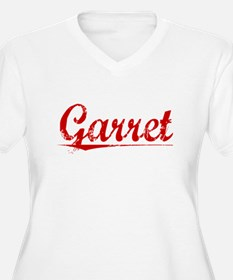 Garret, Vintage Red T-Shirt