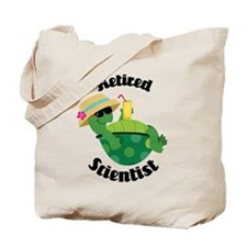 Retired Scientist Gift Tote Bag