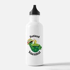Retired Scientist Gift Water Bottle