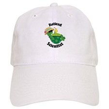 Retired Scientist Gift Baseball Cap