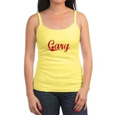 Gary, Vintage Red Tank Top