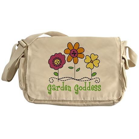 Garden Goddess Messenger Bag