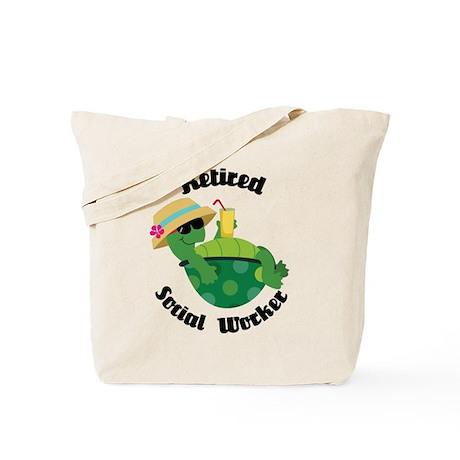 Retired Social Worker Gift Tote Bag