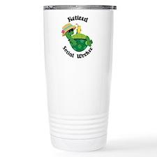 Retired Social Worker Gift Travel Mug