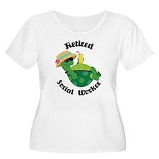 Retired Social Worker Gift T-Shirt
