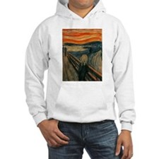 The Scream by Edvard Munch Hoodie