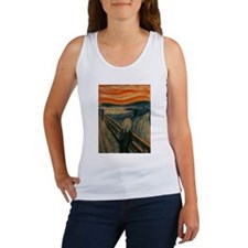 The Scream by Edvard Munch Women's Tank Top