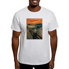 The Scream by Edvard Munch T-Shirt