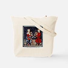 Beautiful Medieval Piper Tote Bag