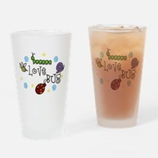 Love Bug Drinking Glass