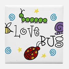 Love Bug Tile Coaster