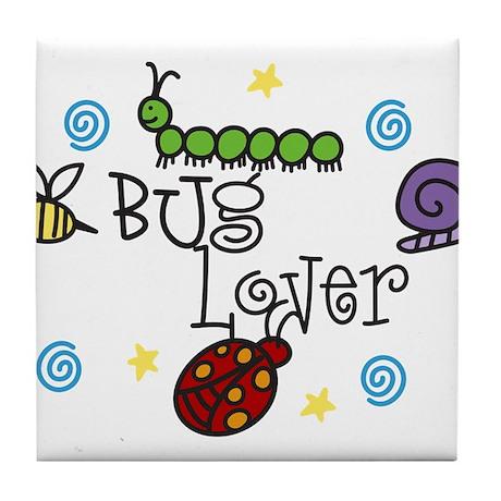 Bug Lover Tile Coaster