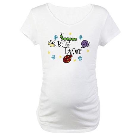 Bug Lover Maternity T-Shirt