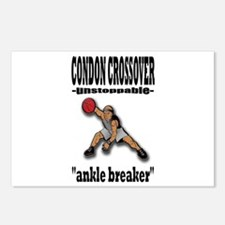 CONDON CROSSOVER-ankle breaker Postcards (Package
