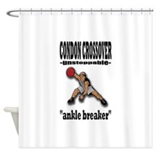 CONDON CROSSOVER-ankle breaker Shower Curtain