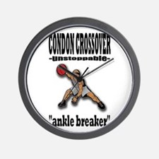 CONDON CROSSOVER-ankle breaker Wall Clock