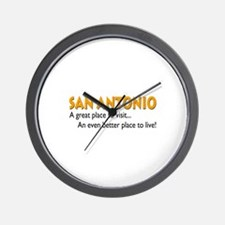 San Antonio...great place to live! Wall Clock