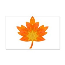 Autumn Orange Maple Leaf Car Magnet 20 x 12