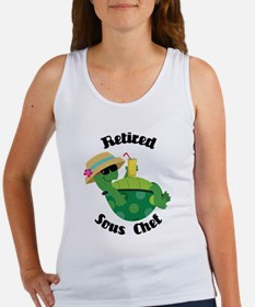 Retired Sous Chef Gift Women's Tank Top