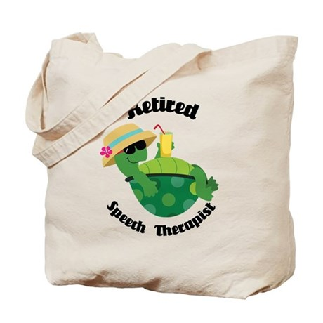 Retired Speech Therapist Gift Tote Bag