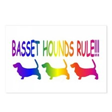 Basset Hounds Postcards (Package of 8)