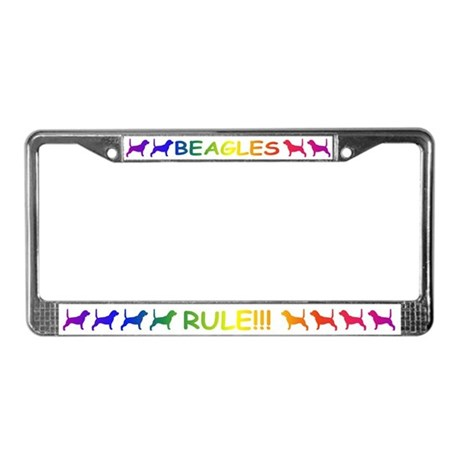 Beagles License Plate Frame