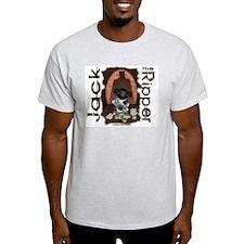 Jack the Ripper Ash Grey T-Shirt