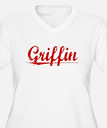 Griffin, Vintage Red T-Shirt