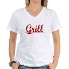 Grill, Vintage Red Shirt