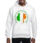 Gaelic Tricolor Shamrock Hooded Sweatshirt
