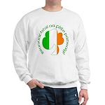 Gaelic Tricolor Shamrock Sweatshirt