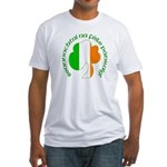 Gaelic Tricolor Shamrock Fitted T-Shirt