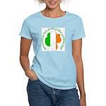 Gaelic Tricolor Shamrock Women's Light T-Shirt