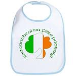 Gaelic Tricolor Shamrock Bib
