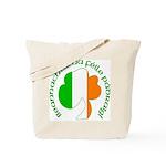 Gaelic Tricolor Shamrock Tote Bag