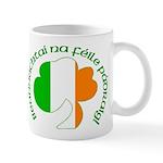 Gaelic Tricolor Shamrock Mug
