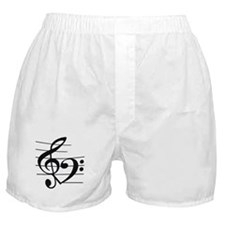 Music heart Boxer Shorts