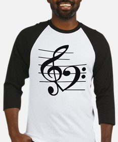 Music heart Baseball Jersey