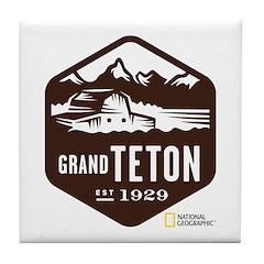 Grand Teton Tile Coaster