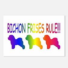 Bichon Frises Postcards (Package of 8)