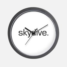Skydive Wall Clock