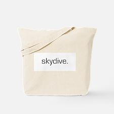 Skydive Tote Bag