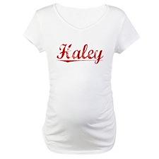 Haley, Vintage Red Shirt